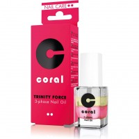 Three-phase oil for nails and cuticles CORAL 11 ml