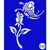 Stencils for the design of henna Kodi Professional S05