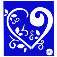 Stencils for the design of henna Kodi Professional S13