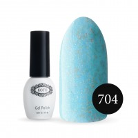 Gel-lacquer KOTO Sand №704 5 ml (blue, enamel)