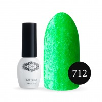Gel-lacquer KOTO Sand №712 5 ml (green, enamel)