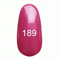 Gel-lacquer Kodi 8 ml № 189 (dark pink with mother-of-pearl)