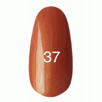 Gel-lacquer Kodi 8 ml №37 (red with mother-of-pearl)