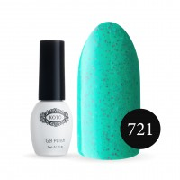 Gel-lacquer COTO Sand №721 5 ml (mint-green, enamel)